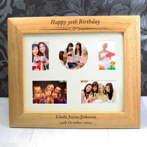 Special Birthday Wooden Photo Frame Personalised Birthday Gift